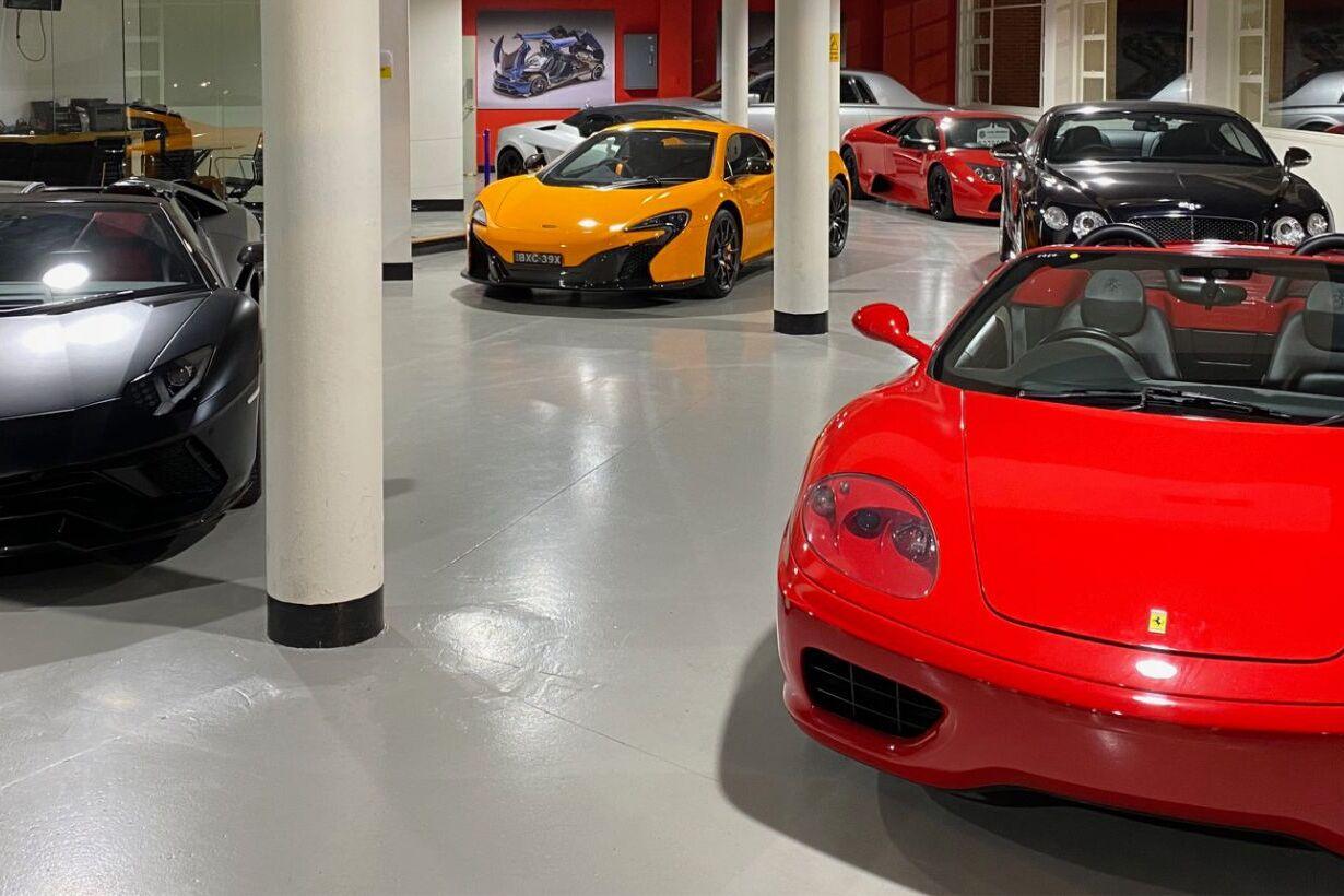 showroom 360 Ferrari