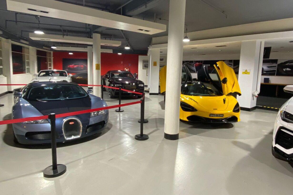 showroom veyron
