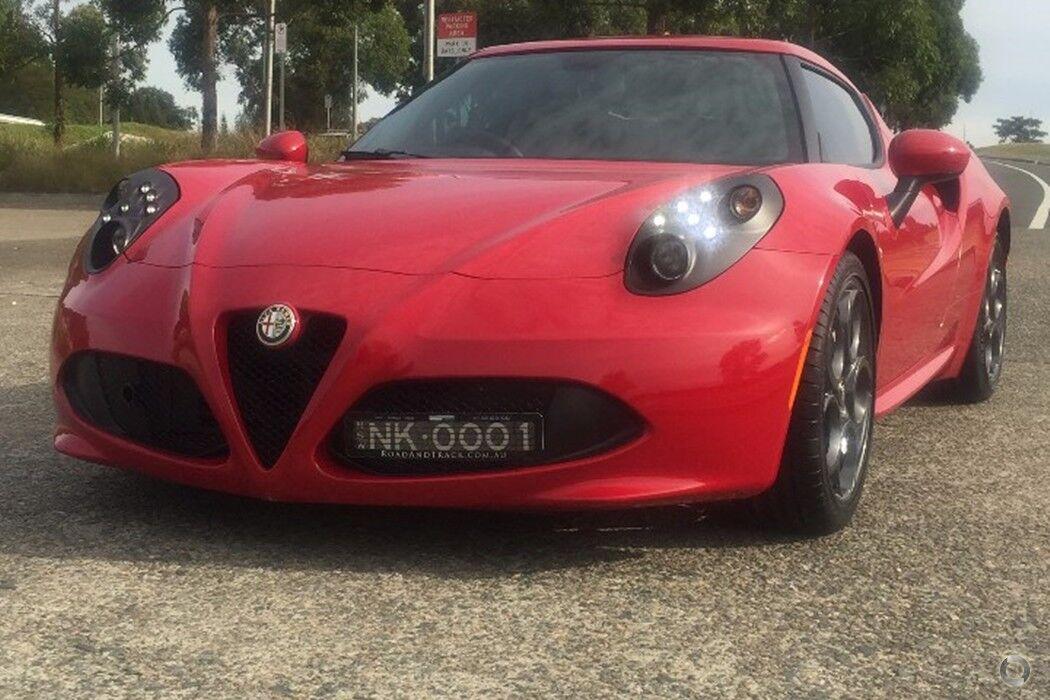 2015 Alfa Romeo 4C Auto