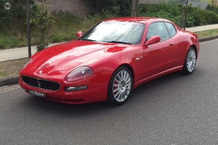 2003 Maserati Coupe Auto Red