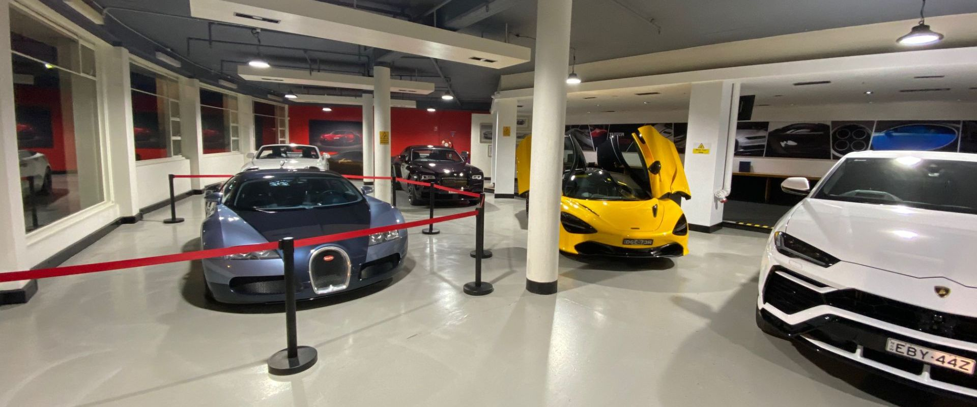showroom veyron