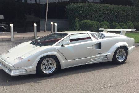 1989 Lamborghini Countach 25th Anniversary Manual