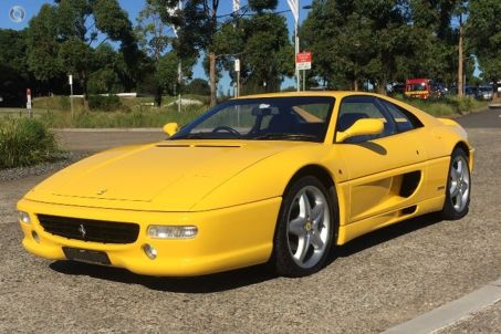 1997 Ferrari F355 Berlinetta Manual