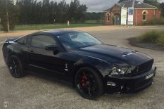 2011 Ford Mustang GT500 Shelby Manual